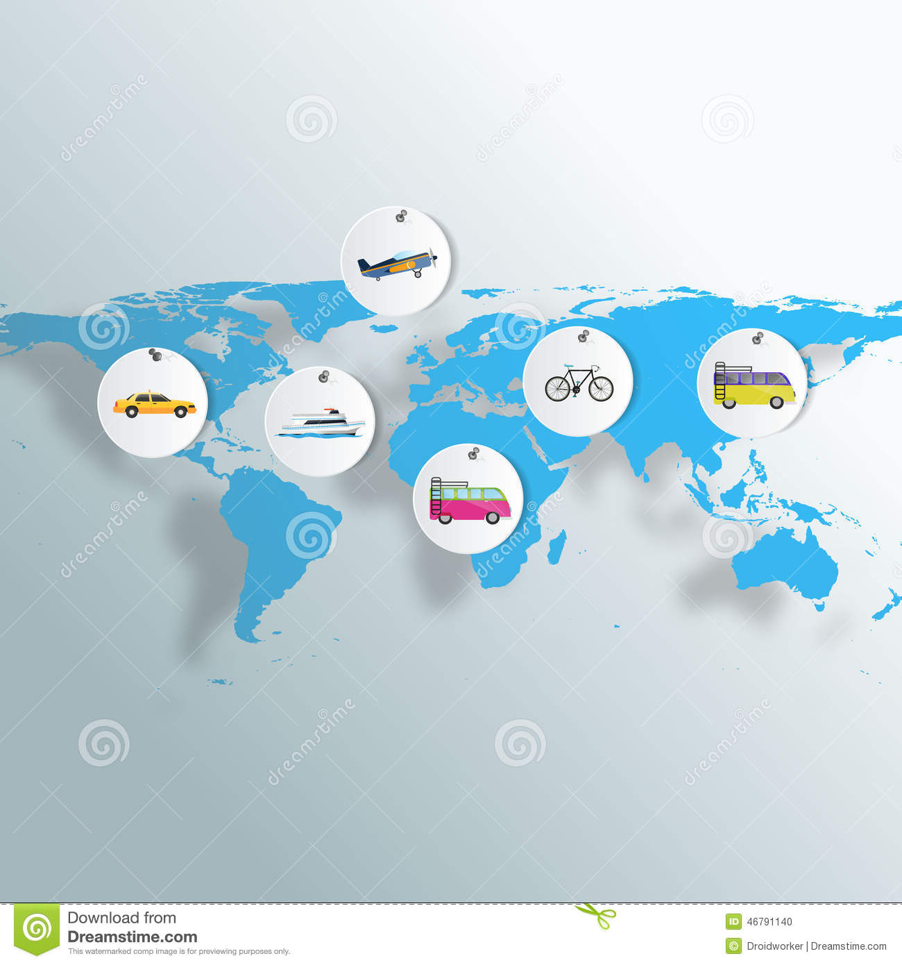 Tourism infographic elements set with world map travel tourism infographic elements set with world map travel destinations vector illustration gumiabroncs