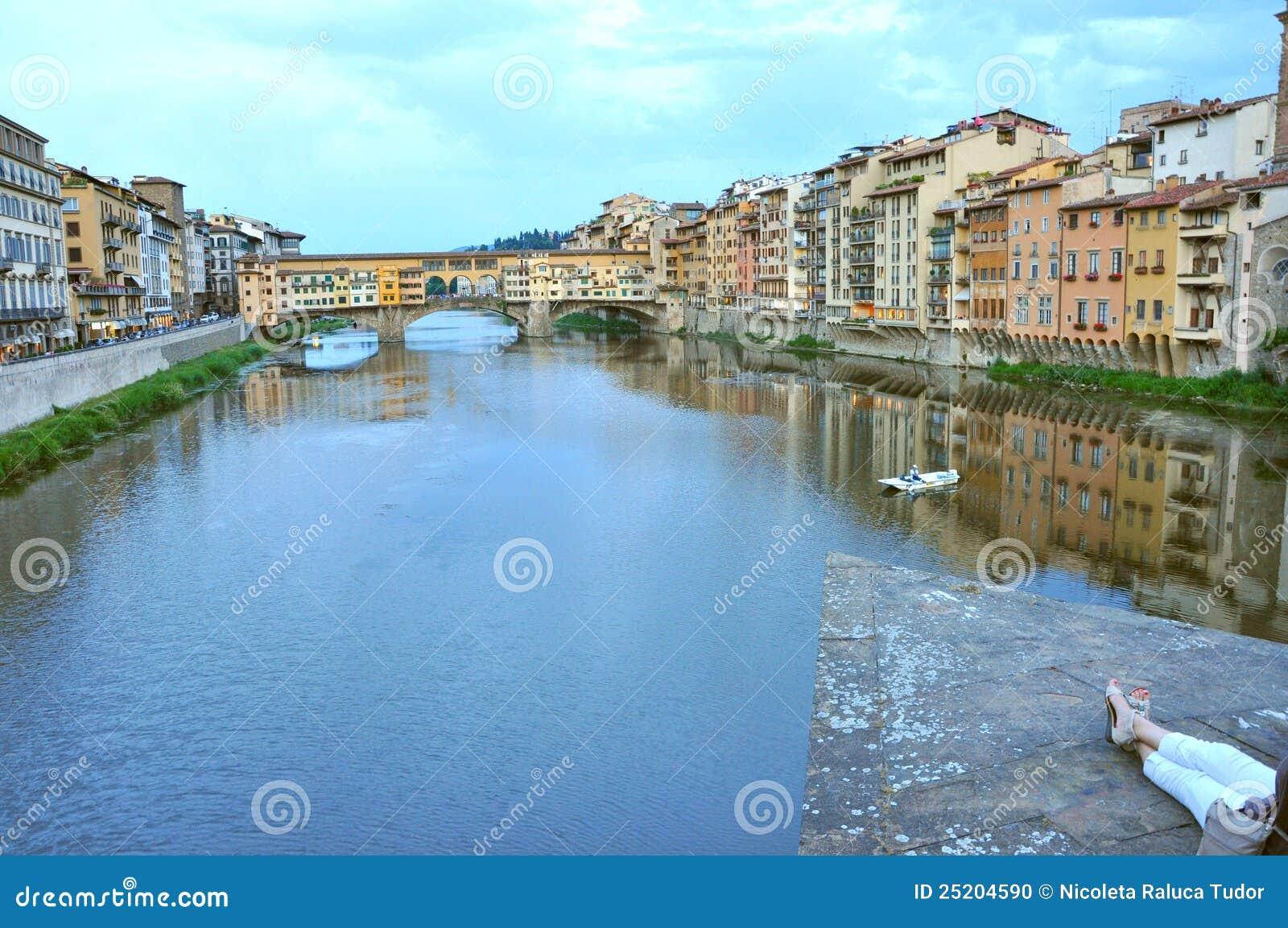 Tourisme dans la ville de florence italie image ditorial for Dans italien