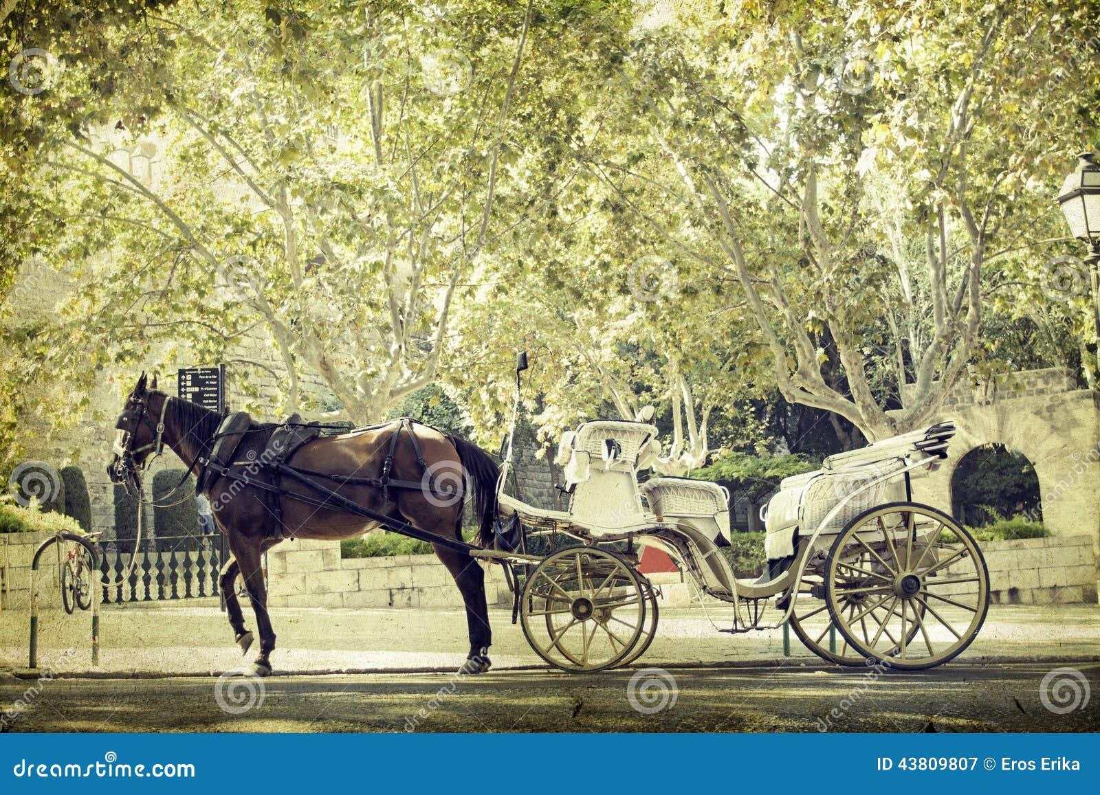 Tourist chariot, Palma de Mallorca