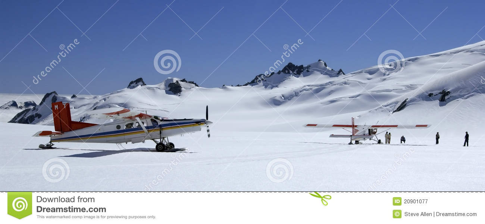 Tourist Flights - Mount Cook - New Zealand