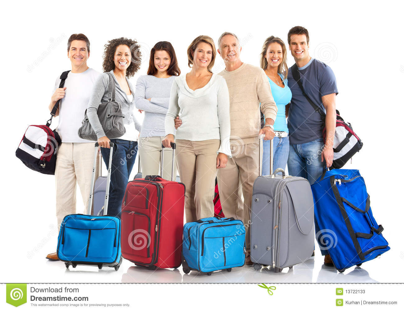 Tourist people stock image. Image of happy, happiness ...