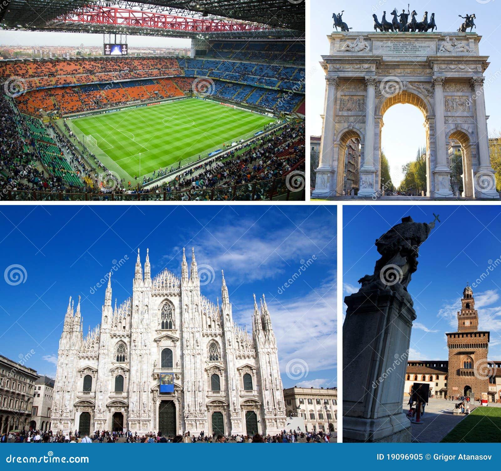 Touristenattraktionen in Mailand, Italien