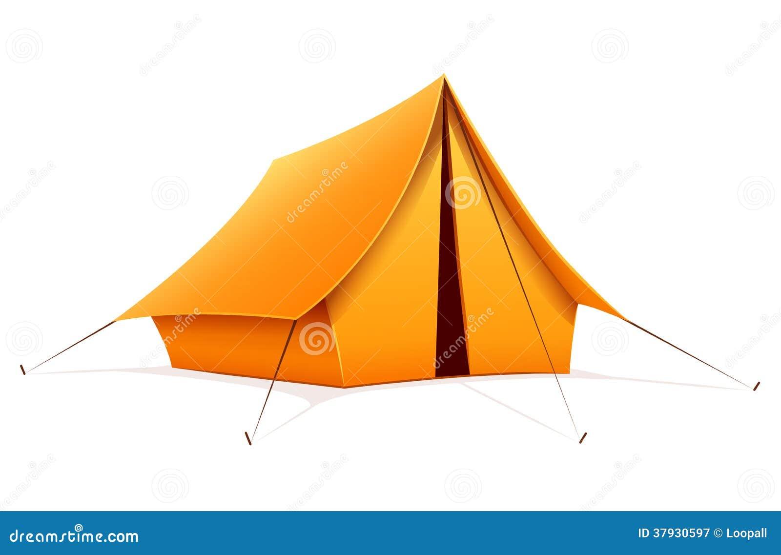 Touristic располагаясь лагерем шатер