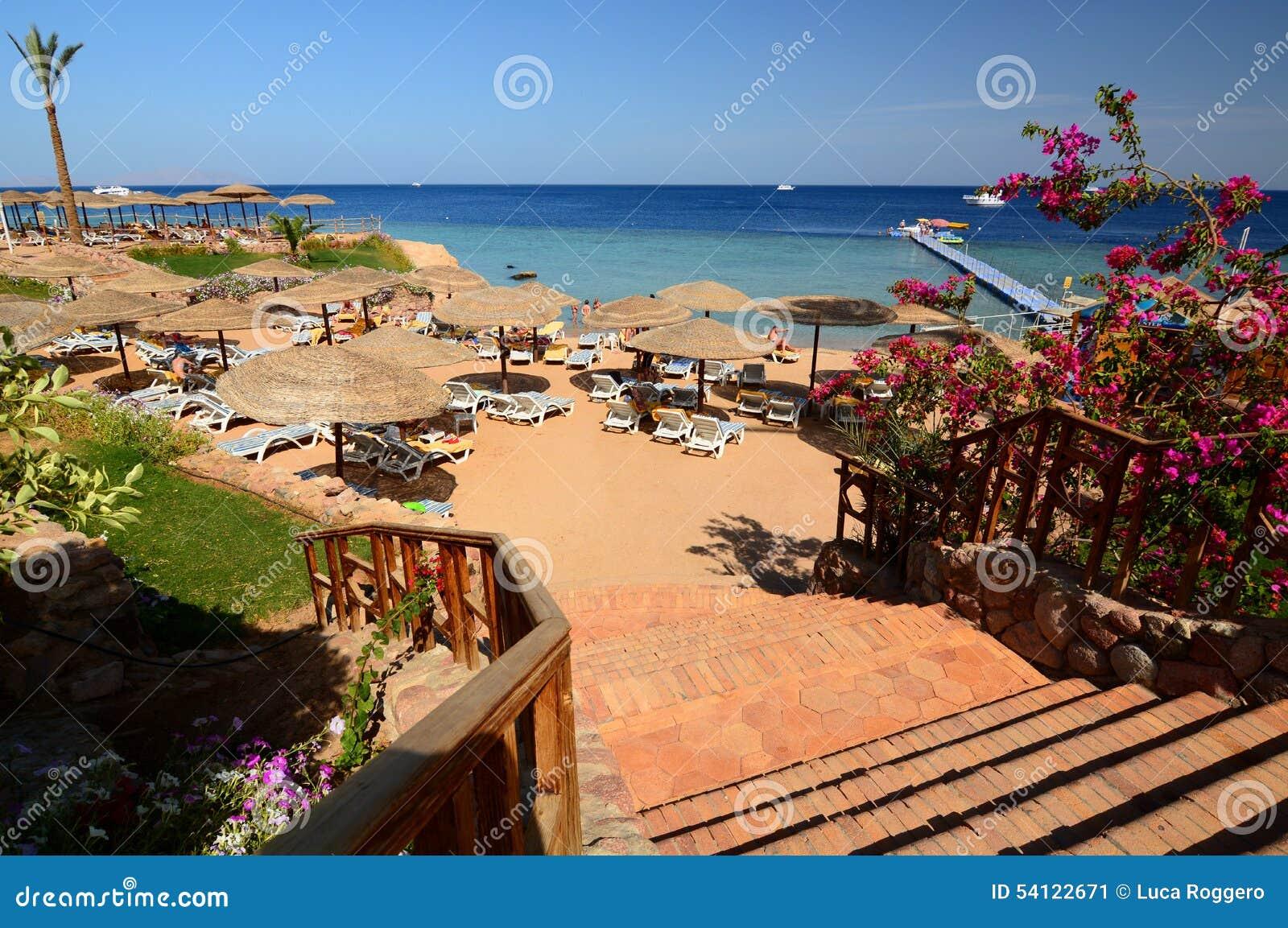 Touristic resort. Sharm El Sheikh. Red Sea. Egypt