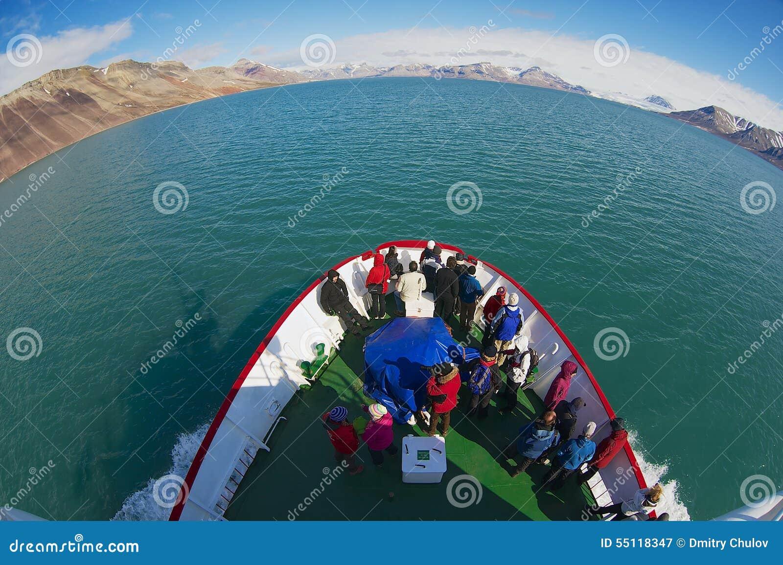 Tourists On A Cruise Ship Editorial Image Cartoondealer