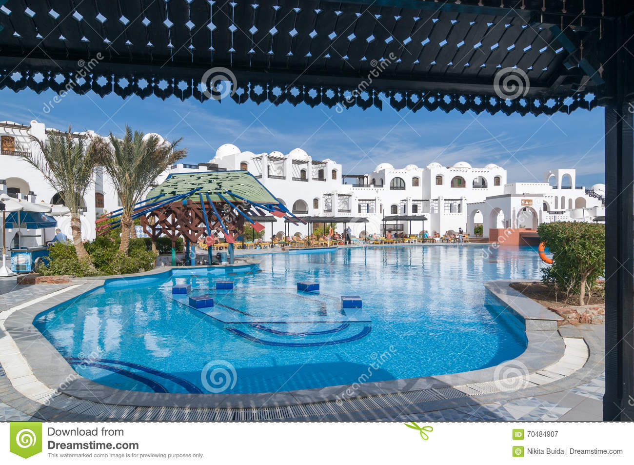 Tourists At Hurghada Hotel Editorial Photography Image Of Palm