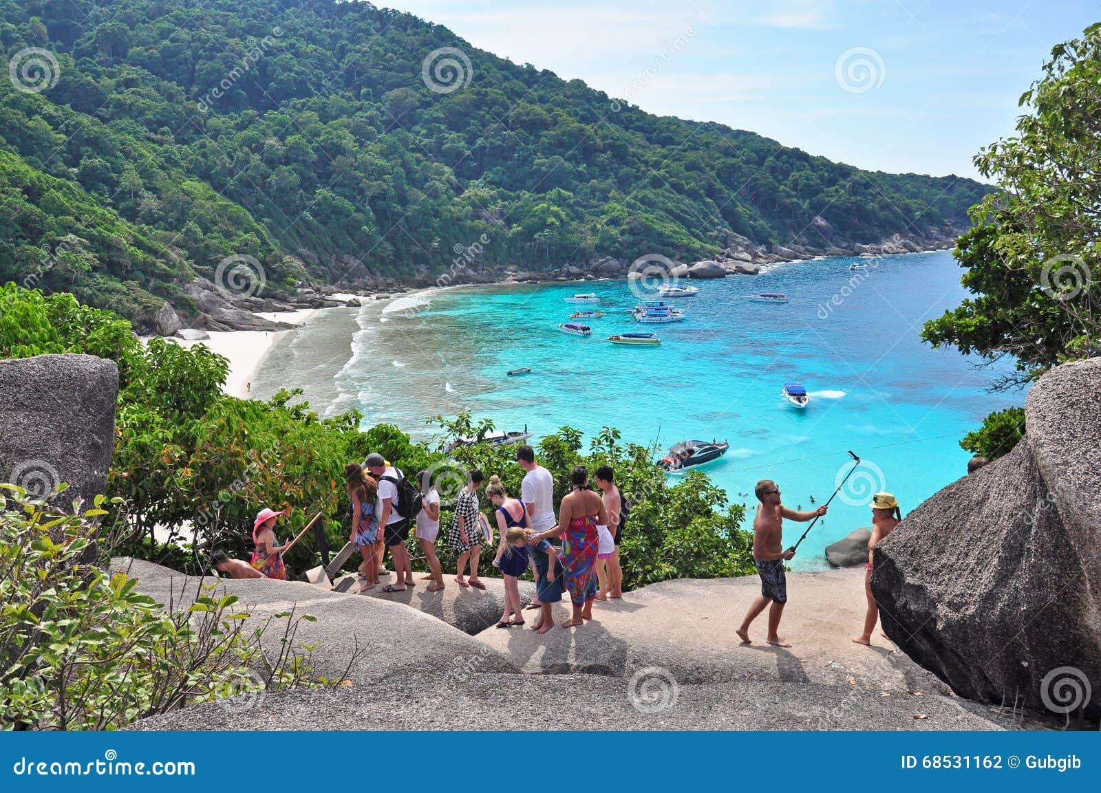 Tourists At Koh Similan Editorial Photography - Image: 68531162