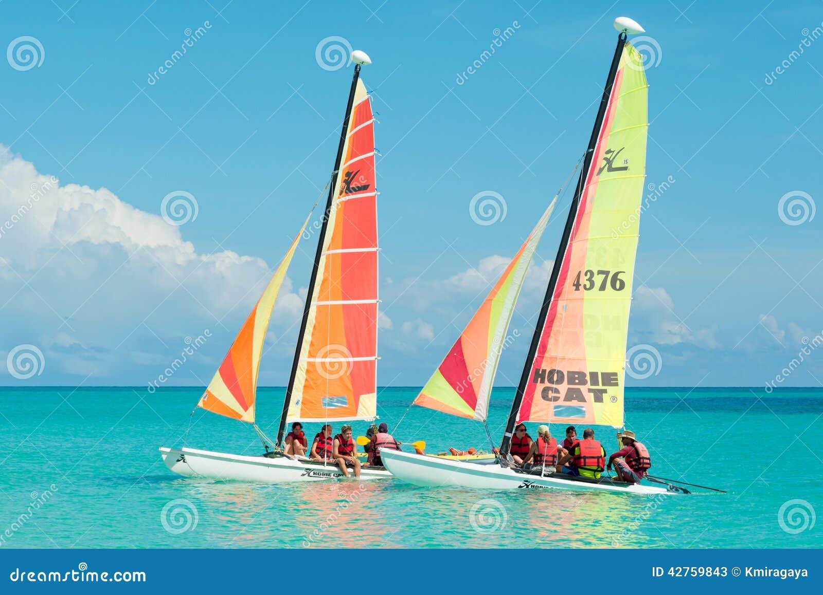 Tourists Sailing In Cayo Santa Maria In Cuba Editorial Stock Photo - Image: 42759843
