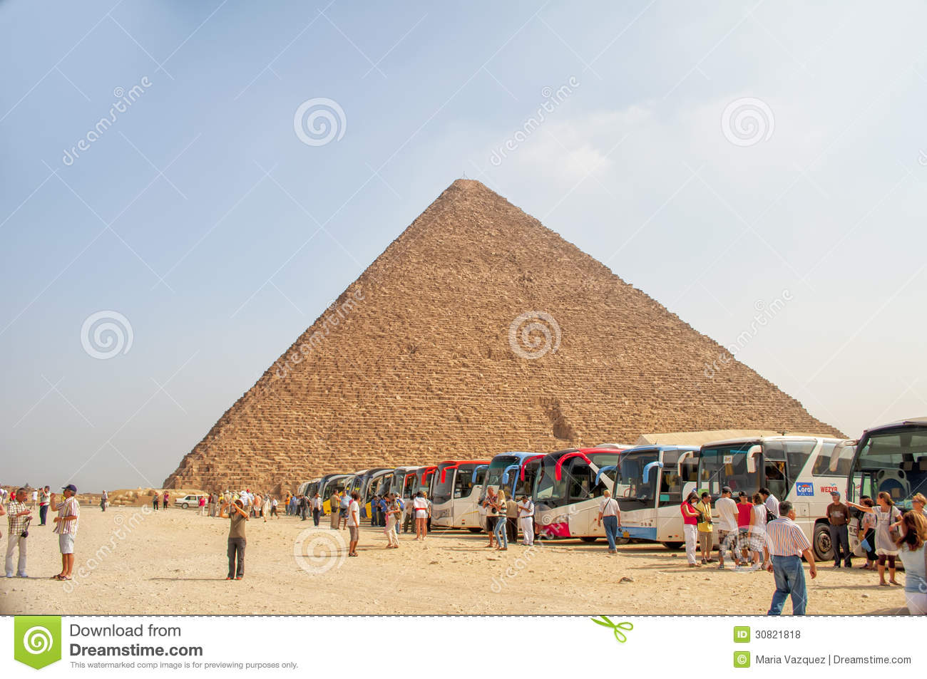 an analysis of elements and dimensions of the great pyramid in egypt The giza pyramid complex is an archaeological site on the giza plateau, on the  outskirts of  by virtue of its more elevated location, and the steeper angle of  inclination of its construction—it is, in fact, smaller in both height and volume.