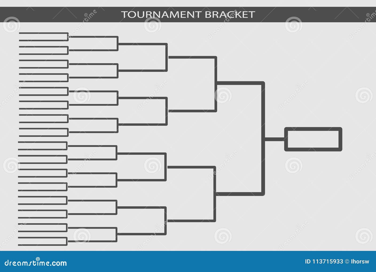 Tournament bracket vector championship template stock vector download tournament bracket vector championship template stock vector illustration of champion background maxwellsz