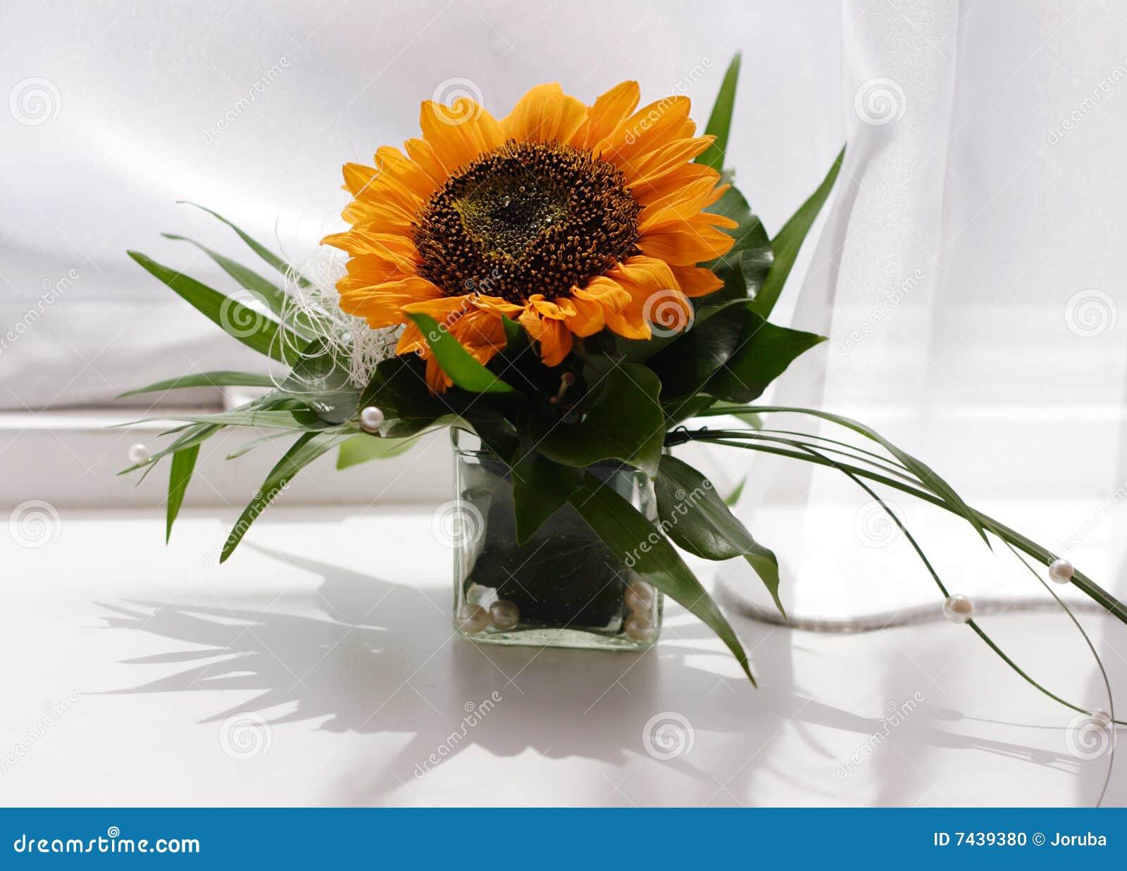 Tournesol de bouquet photo stock image 7439380 - Bouquet de tournesol ...