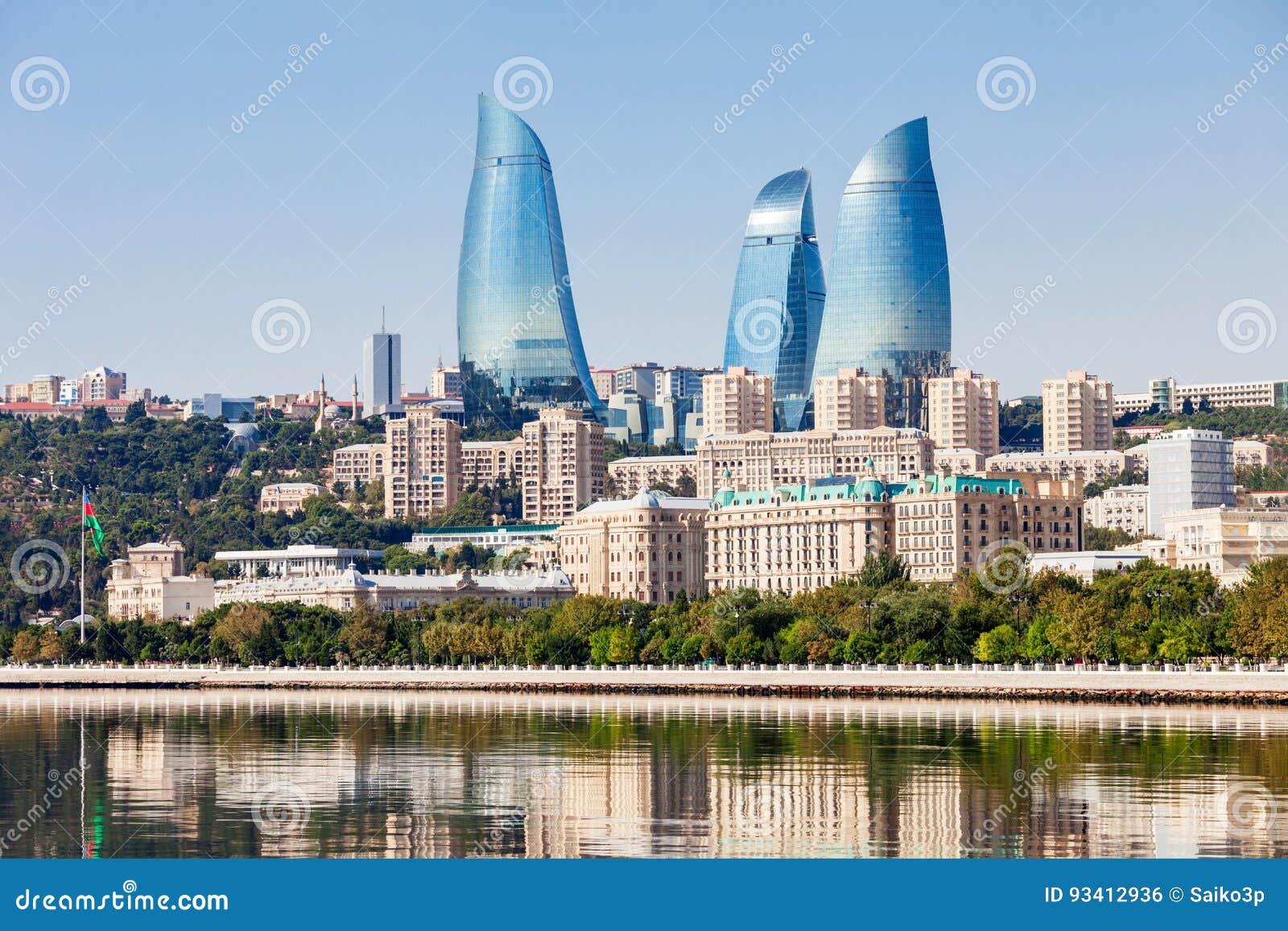 Tours de flamme à Bakou
