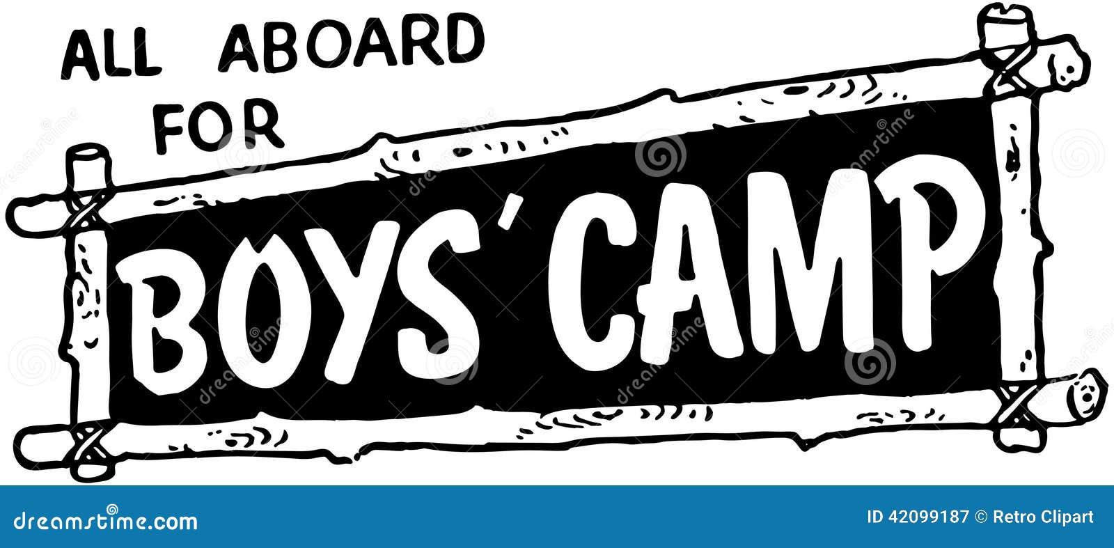 Tous à bord pour le camp de garçons