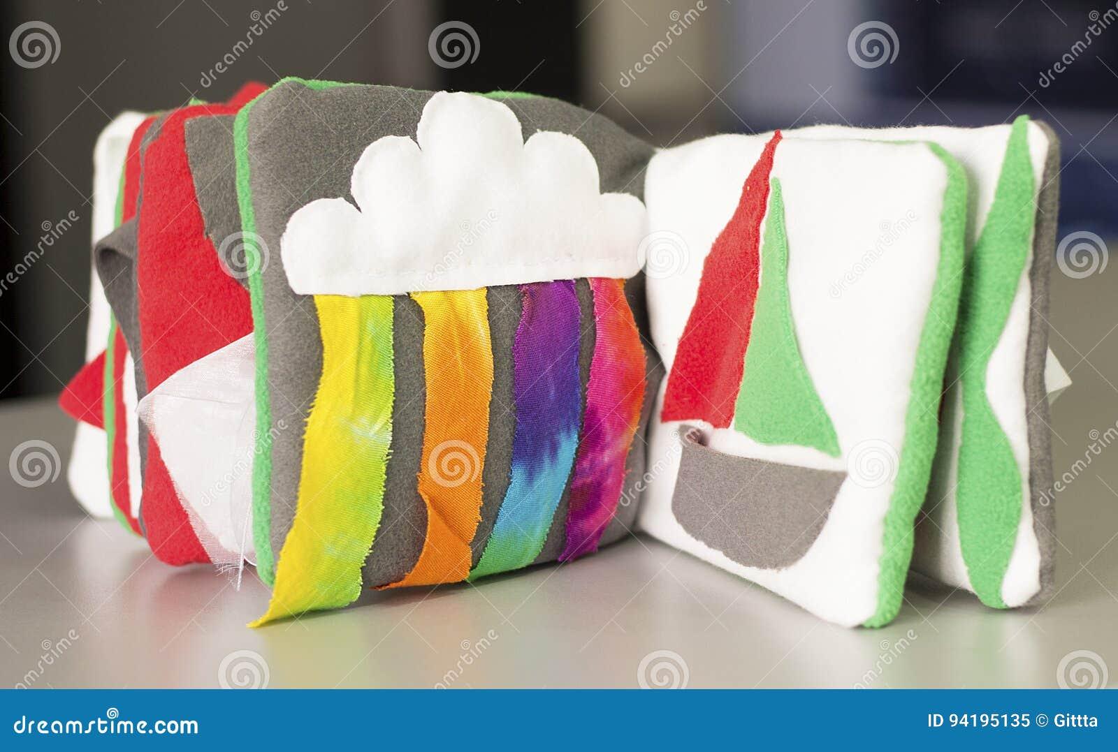 Tout A Fait Livre Sensoriel Image Stock Image Du Colore