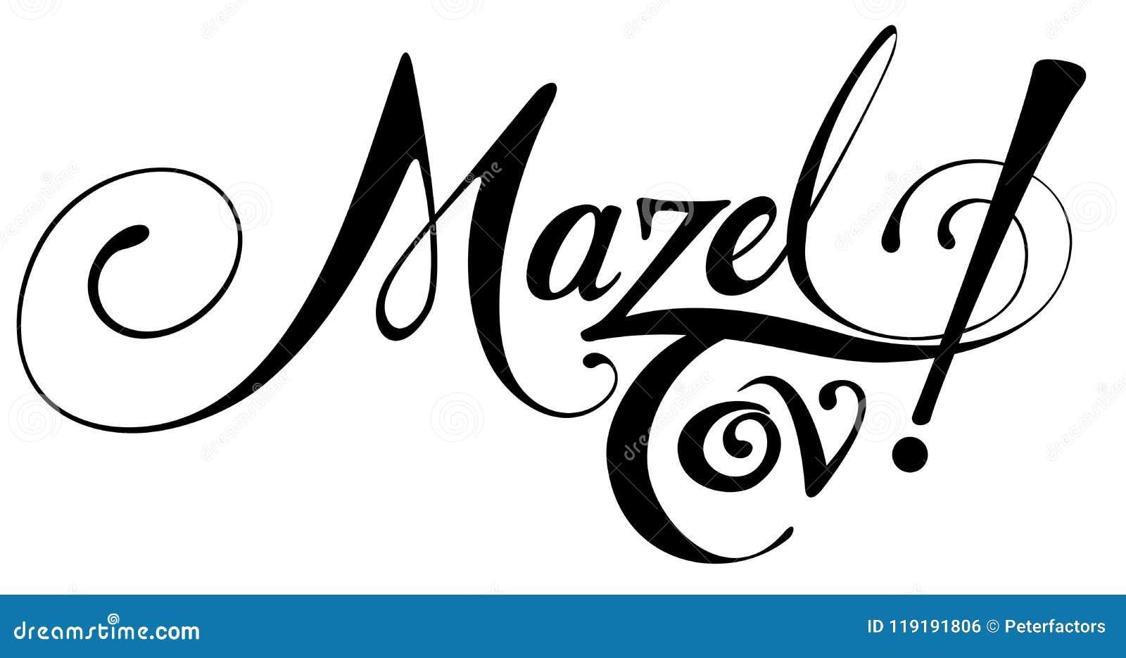 Tov de Mazel !