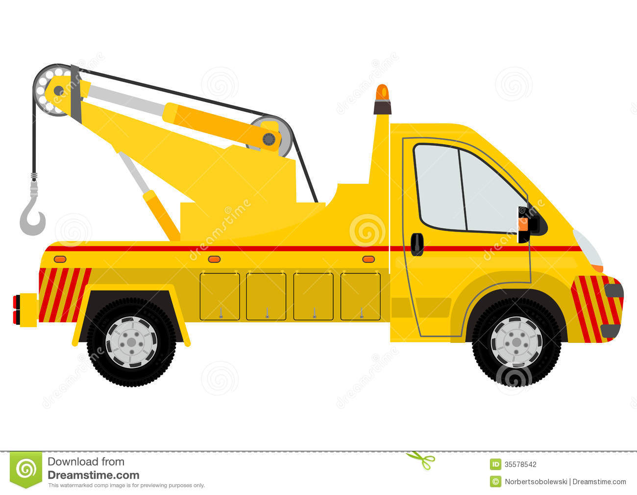 Tow Car Silhouette Stock Photography - Image: 35578542