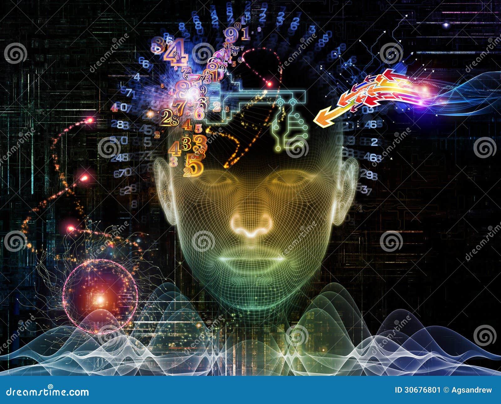 Toward Digital Encryption Stock Image Image 30676801