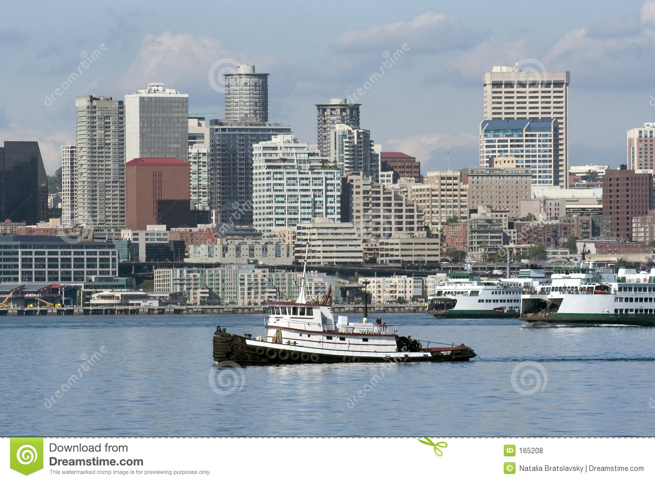Towboat in Seattle