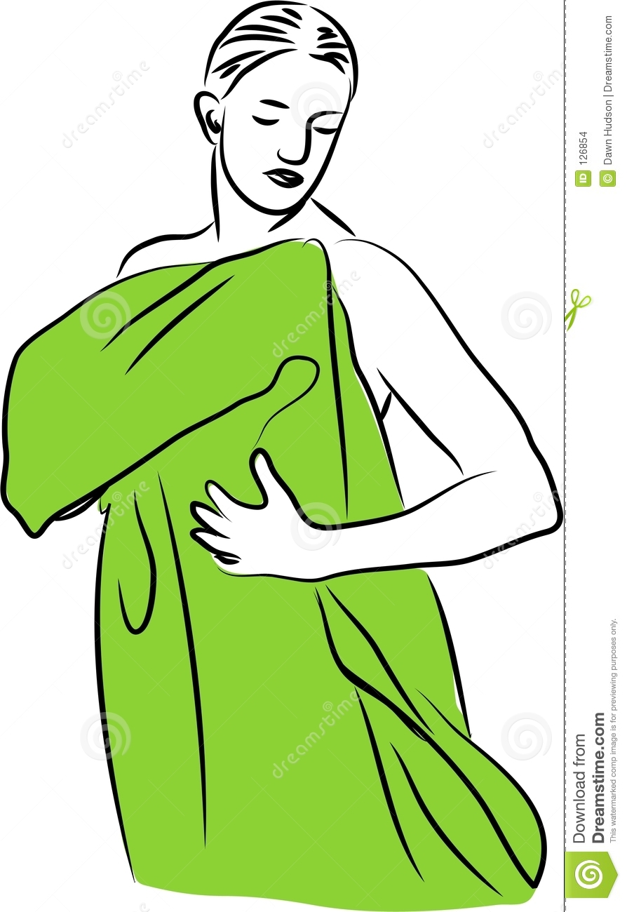 Towel Dry Stock Images... Drying Off Clipart