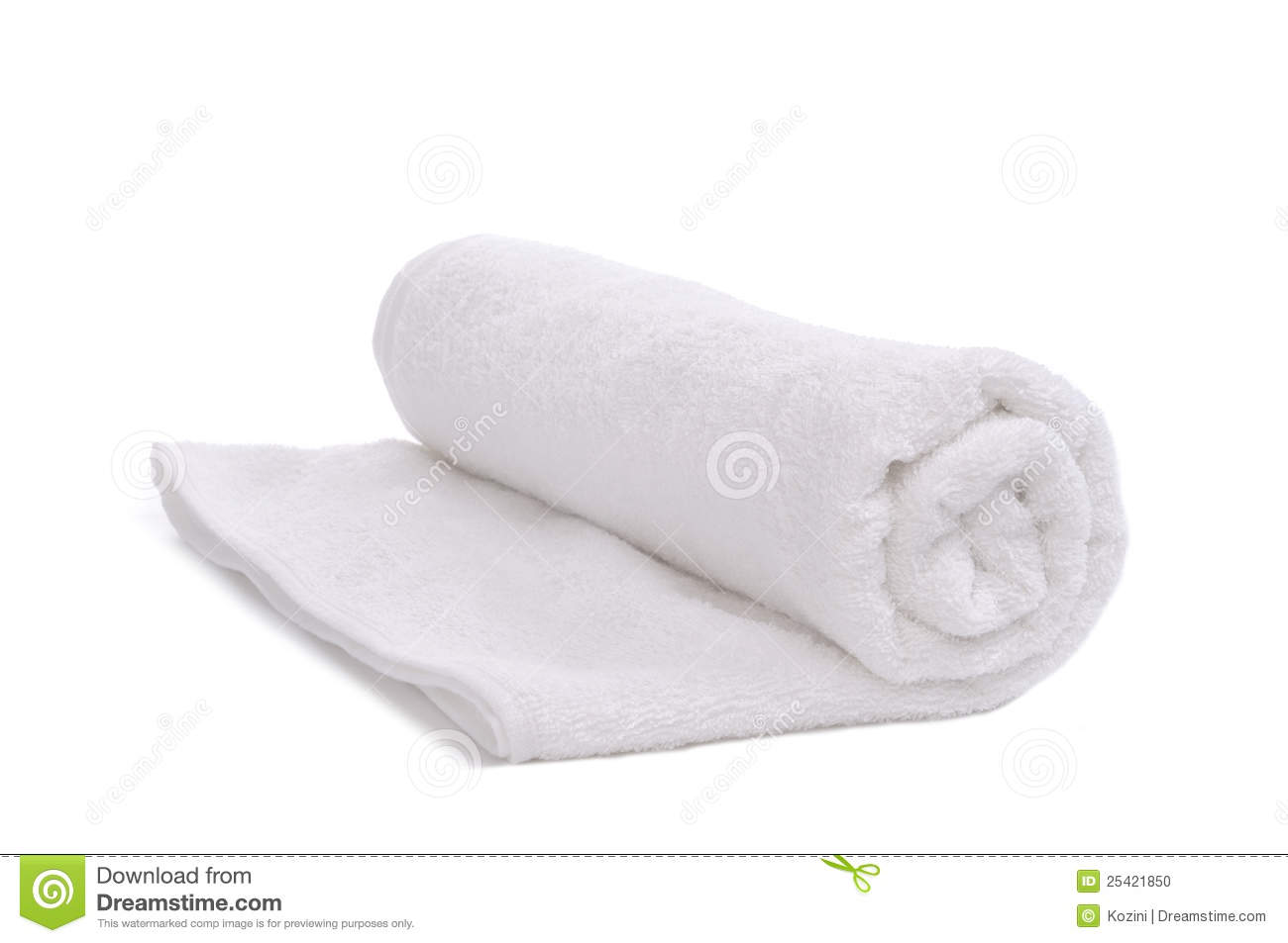 Towel roll stock photo. Image of soft, fabric, laundry ...