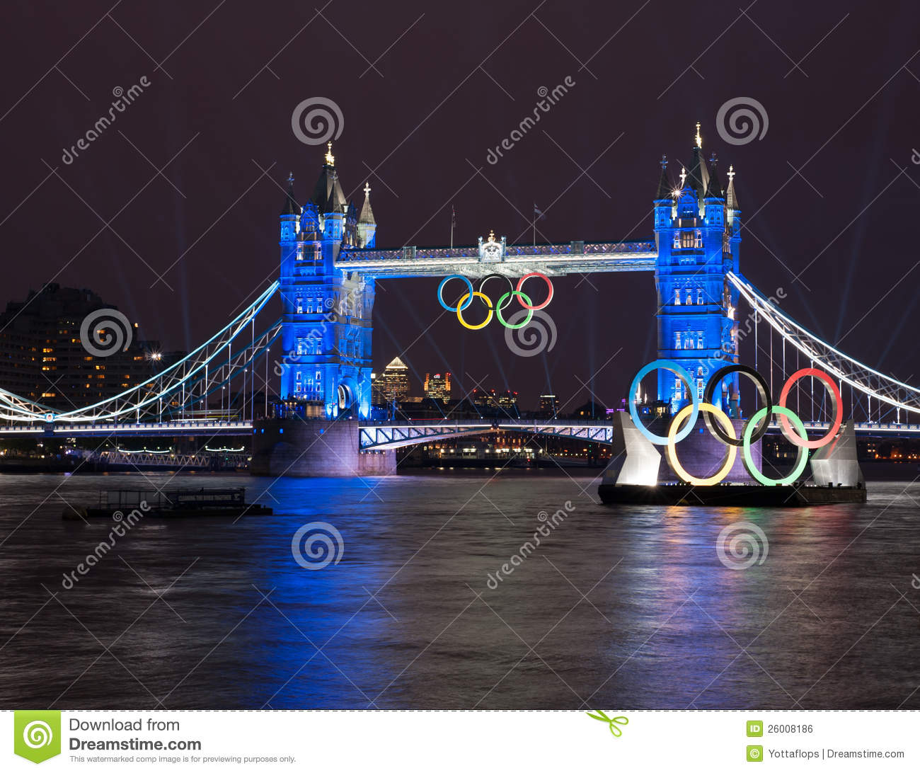 Tower Bridge: London 2012 Summer Olympics