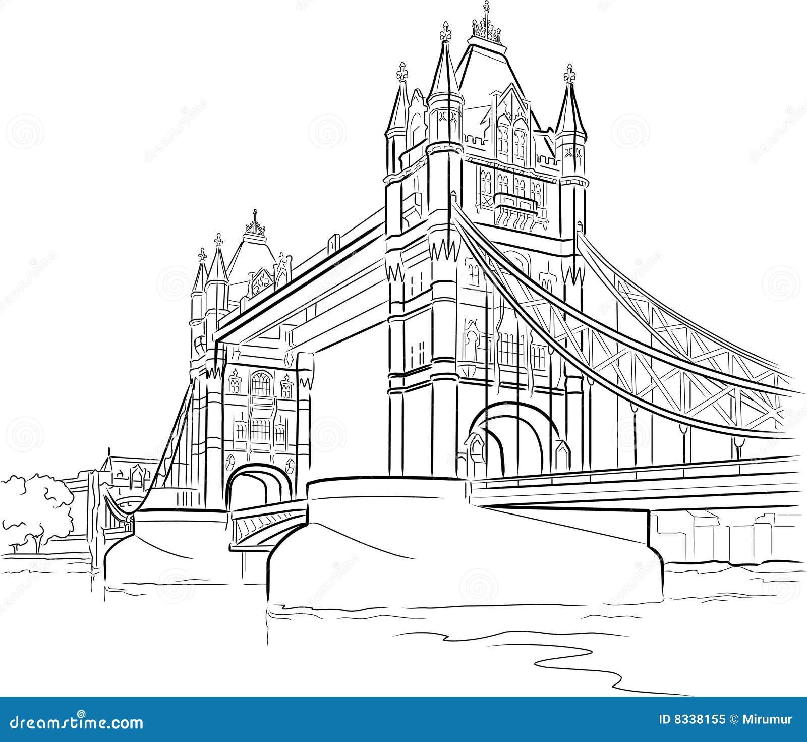 Tower Bridge In London Royalty Free Stock Photo Image