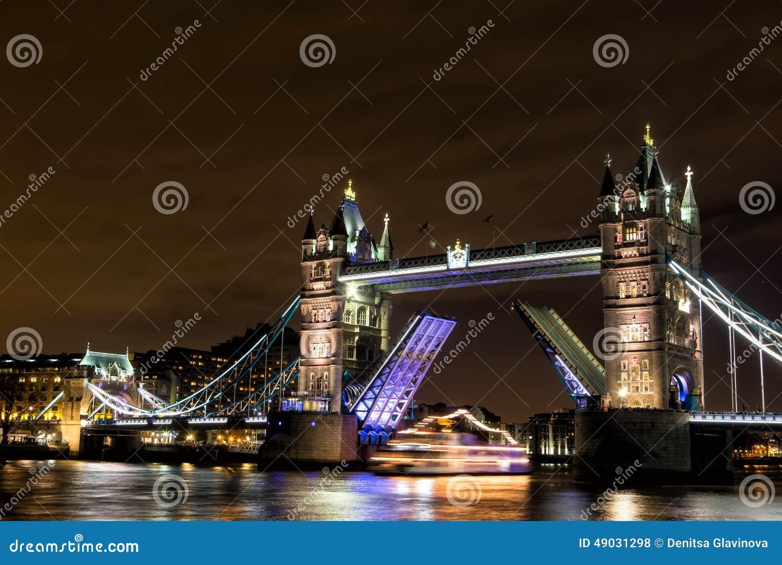 bridge gb night london - photo #49
