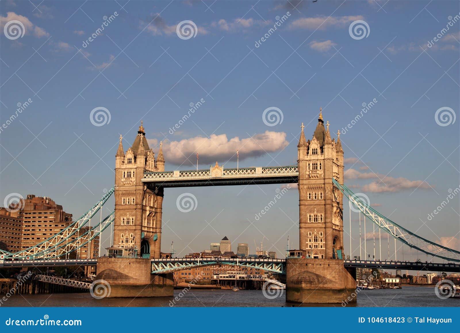 Tower Bridge And River Thames London England