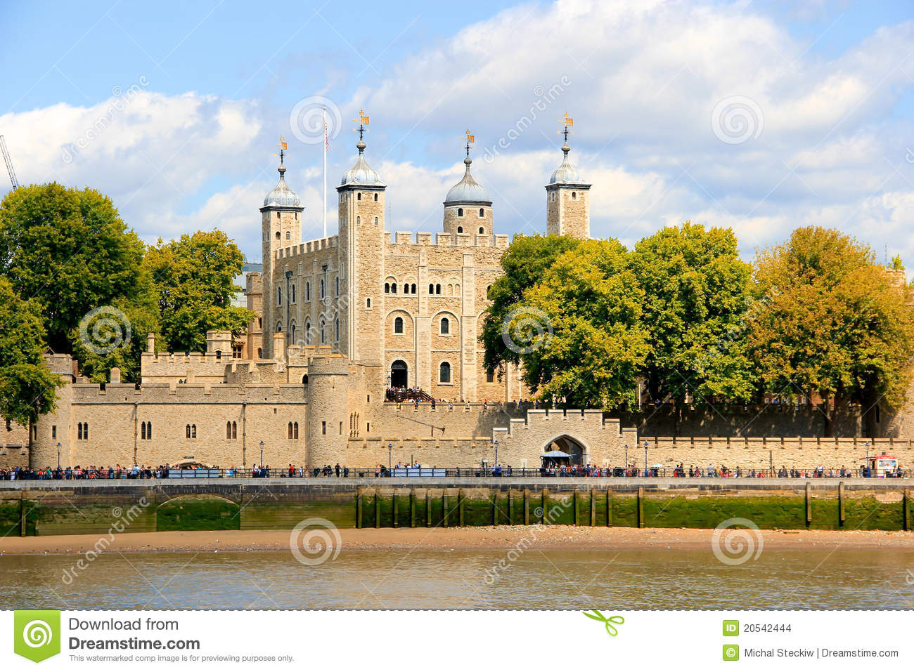 Tower Castle in London