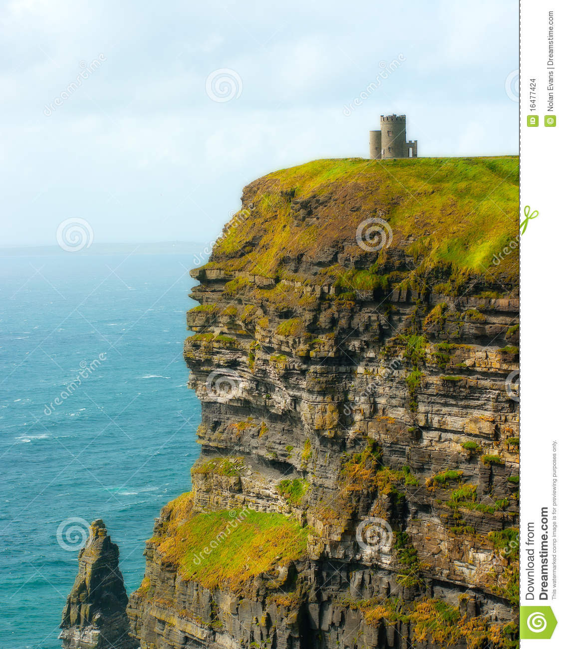 Tower on the Cliffs of Moher