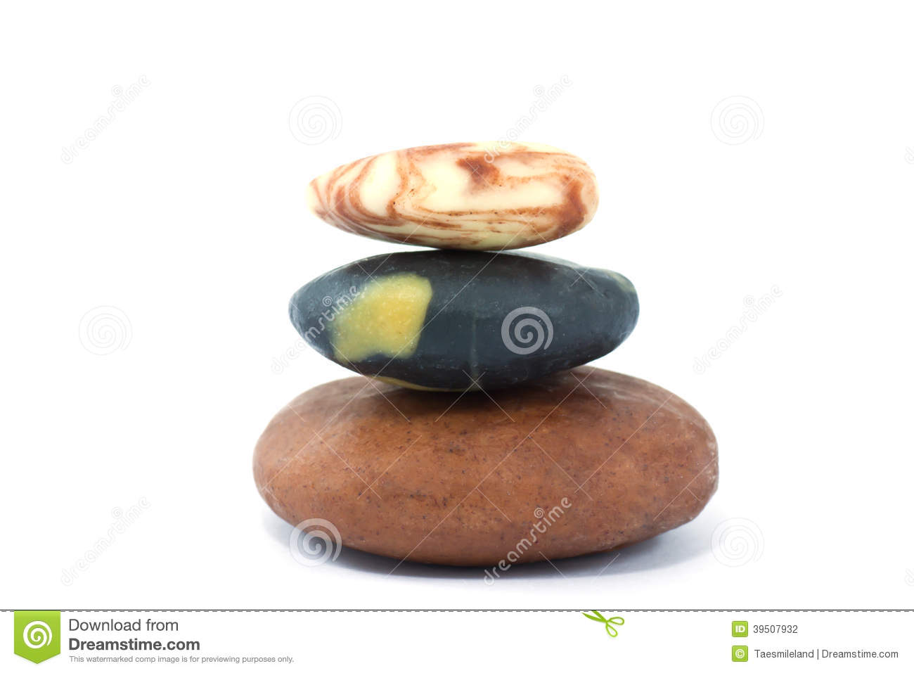 Tower color stones