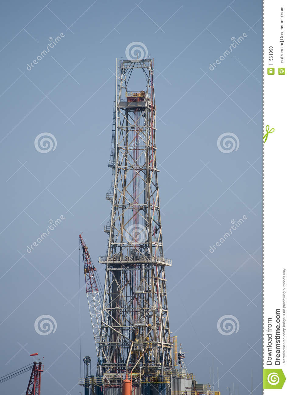 Tower of a drilling rig