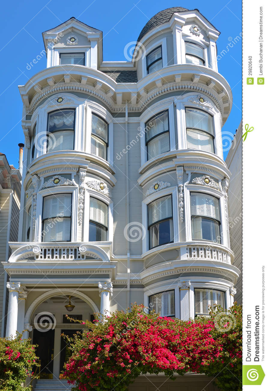 Elegant tower of victorian home in the queen anne style in for Queen anne style