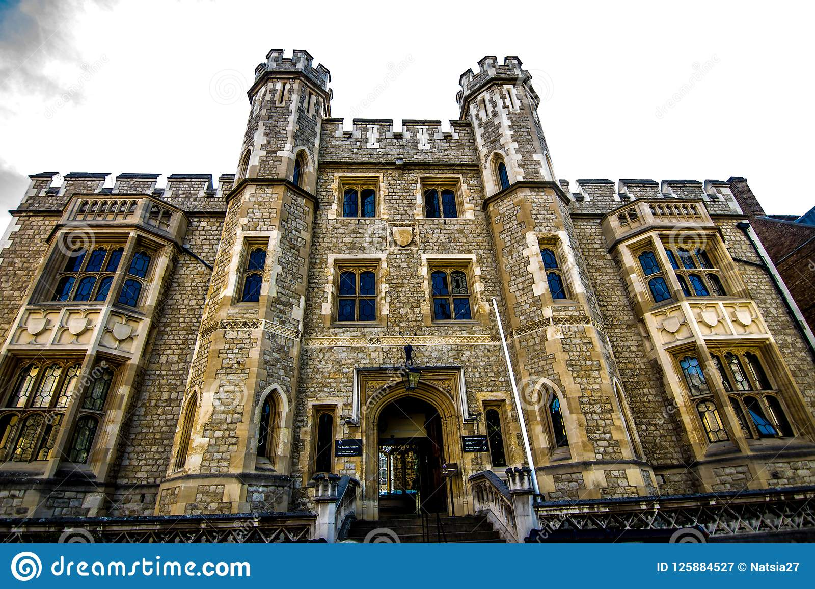 tower of london view from the inside editorial photography image