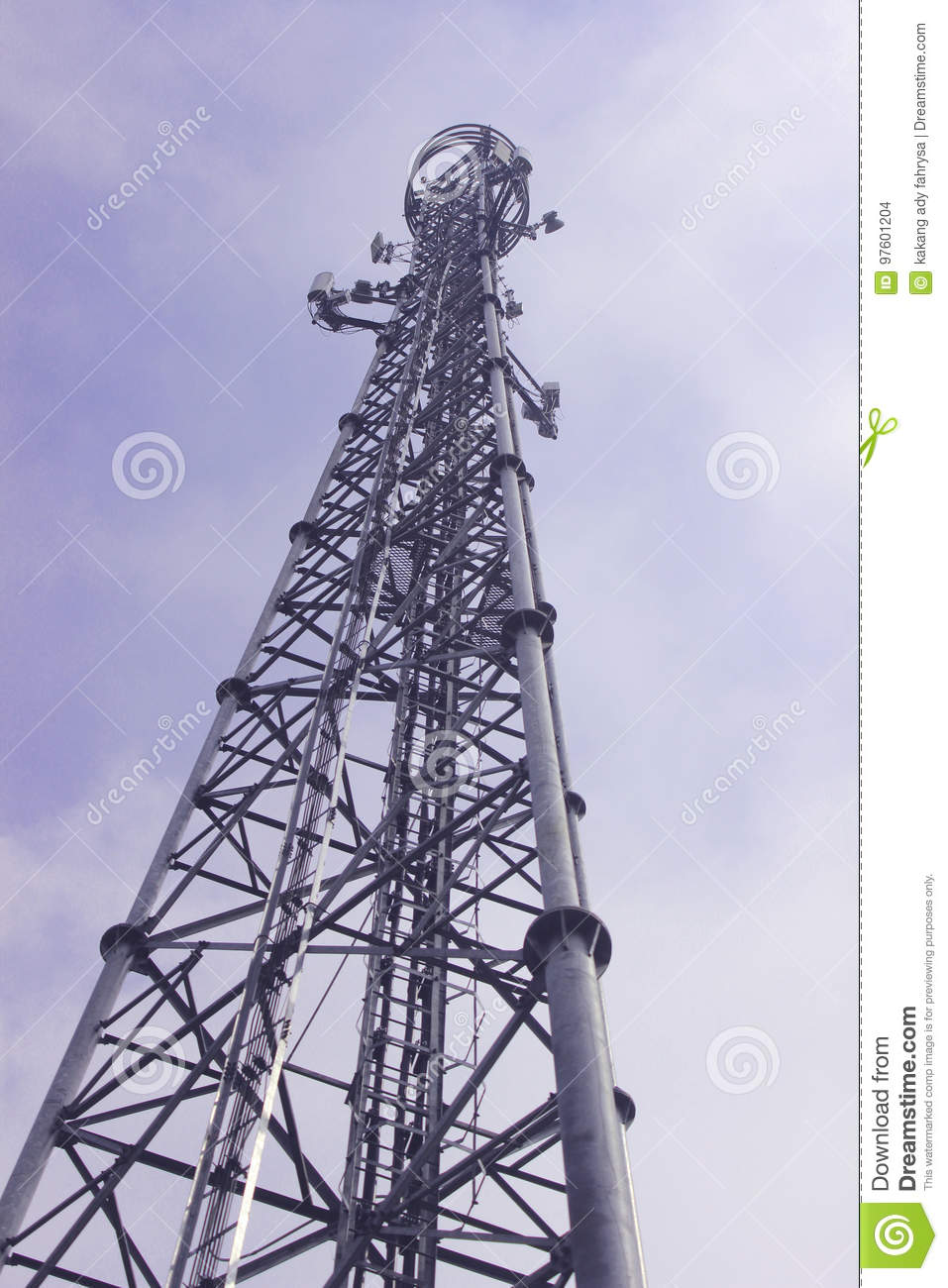 Tower signal stock photo. Image of towers, frequency - 97601204