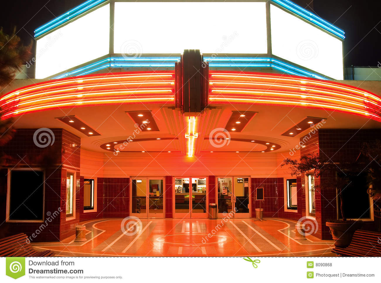 Tower theater in sacramento stock photo image of decor dramatic