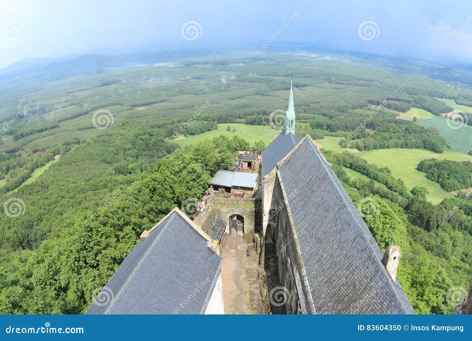 Tower View, Bezdez Castle