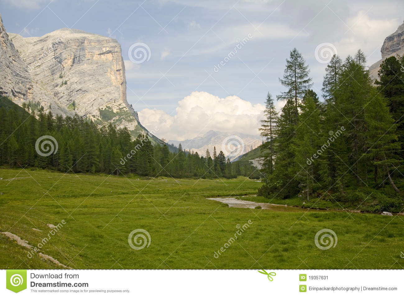 Towering Cliffs of the Dolomites
