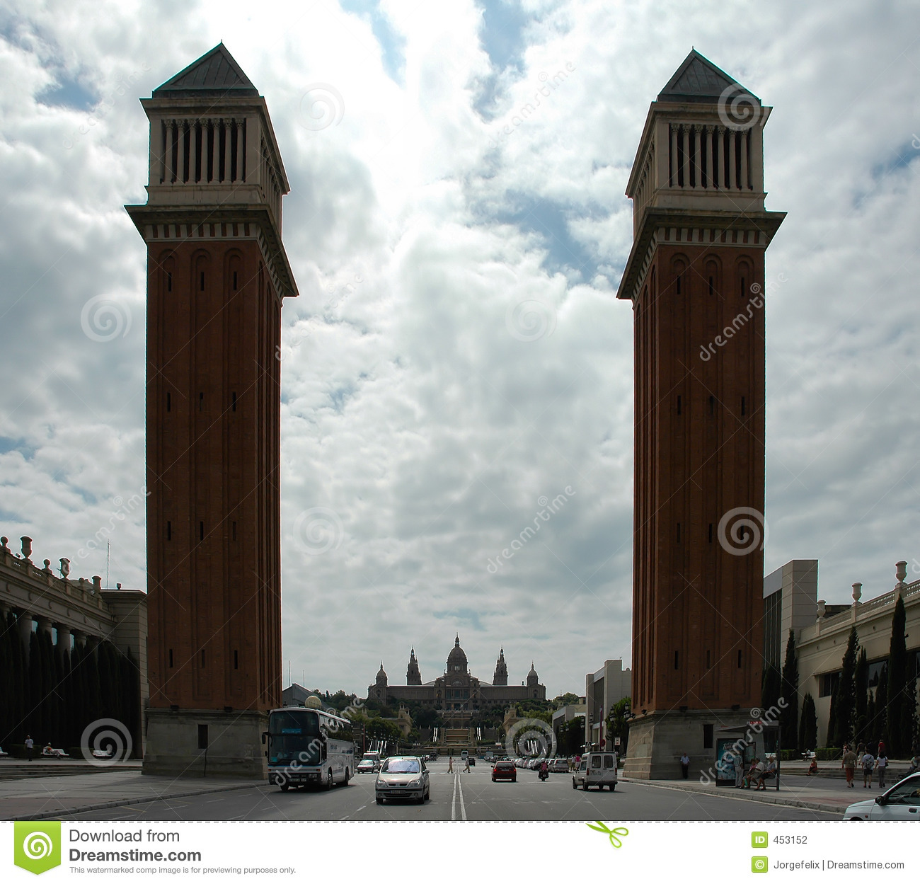 Download Towers stock photo. Image of tower, palace, historic, high - 453152