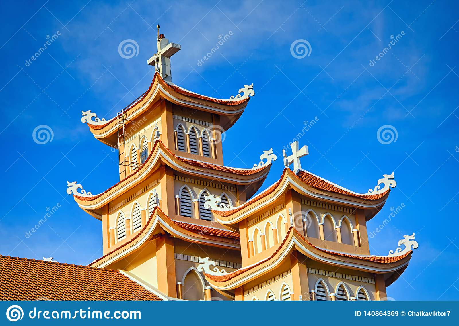 Towers of the Catholic Church in Vietnam