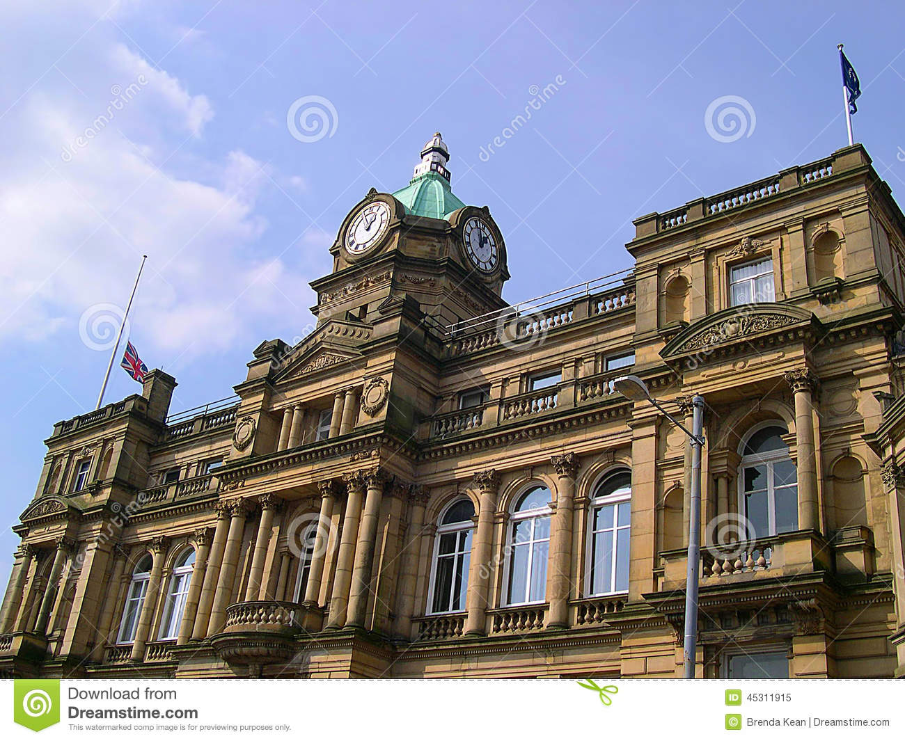 Town Hall In Burnley Lancashire Editorial Image - Image of ...
