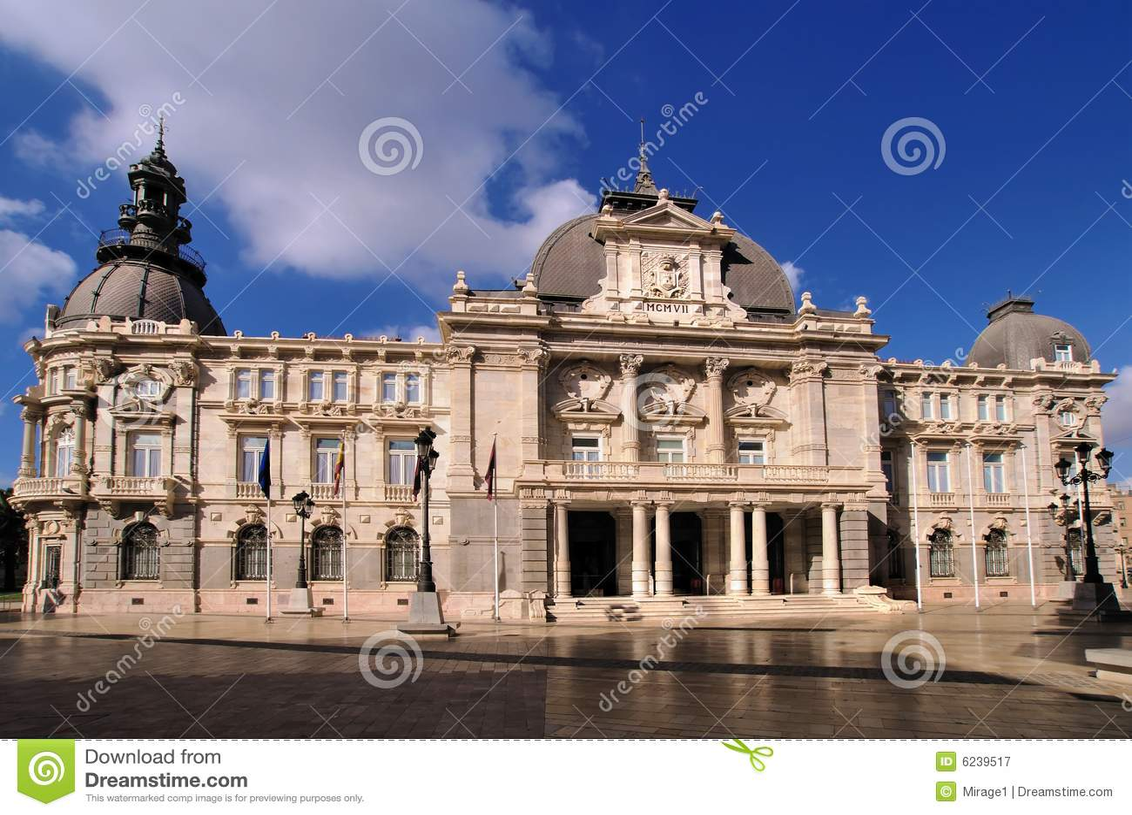 City Hall Cartagena Spain