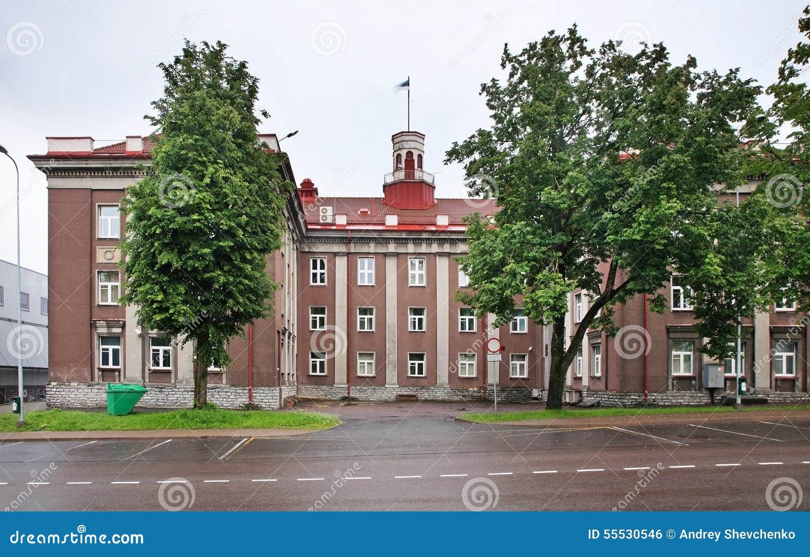 Town Hall In Johvi Estonia Stock Photo Image 55530546