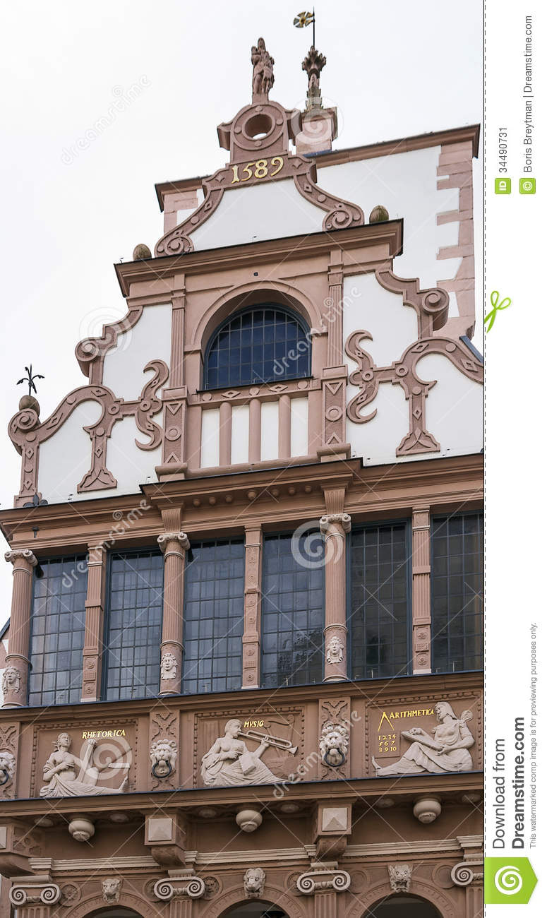 Lemgo Germany  City new picture : Town Hall Of Lemgo, Germany Stock Image Image: 34490731