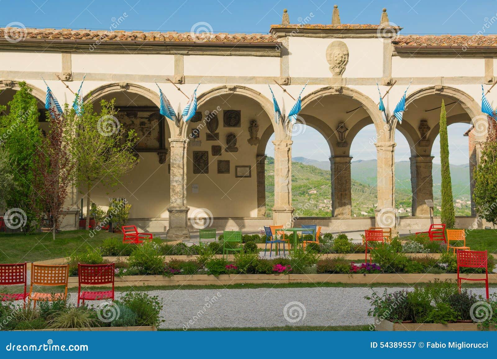 Town Hall Square In Castiglion Fiorentino Stock Image - Image of ...