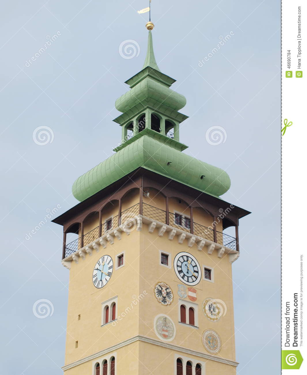 Town Hall Tower, the city of Retz
