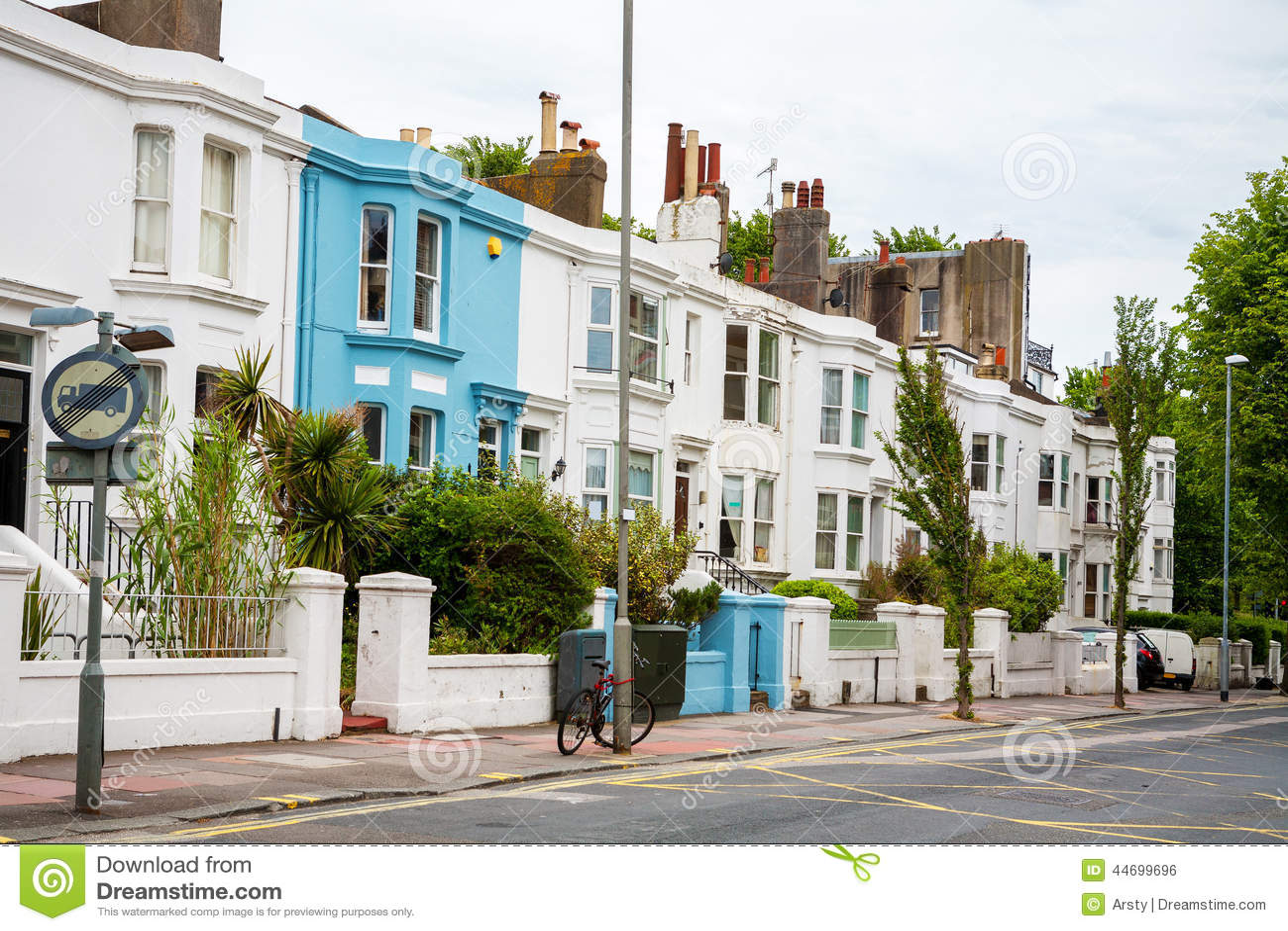 England Apartment Building