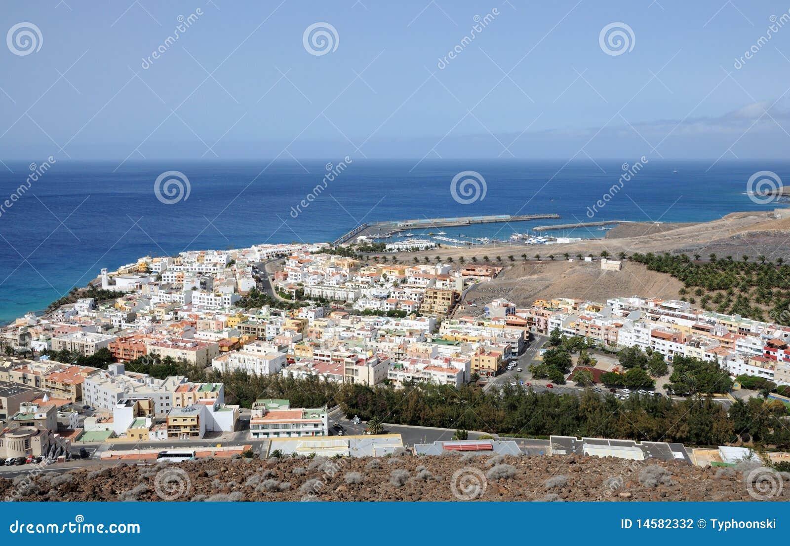 Town Morro Jable, Fuerteventura