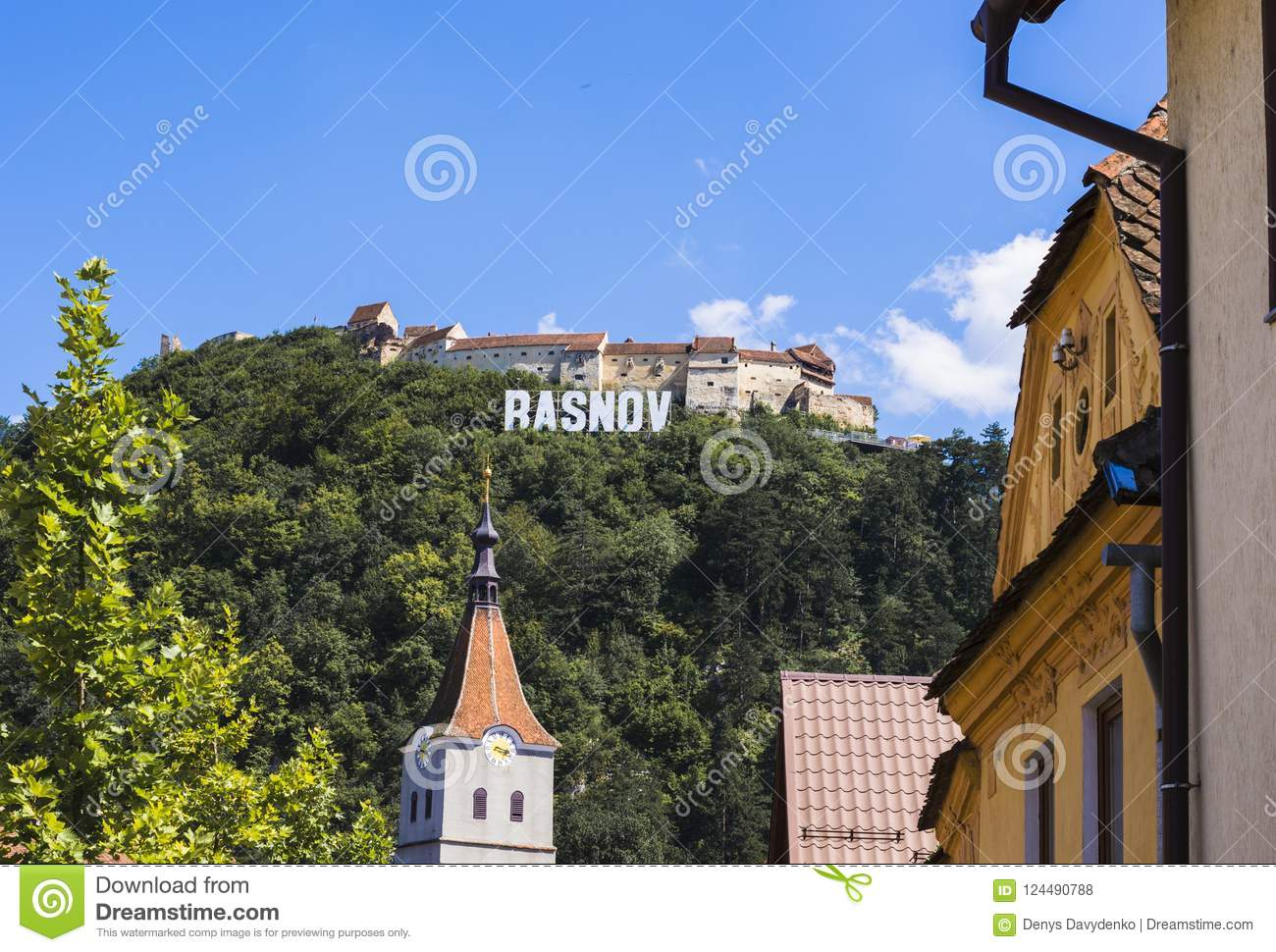 Town of Rasnov