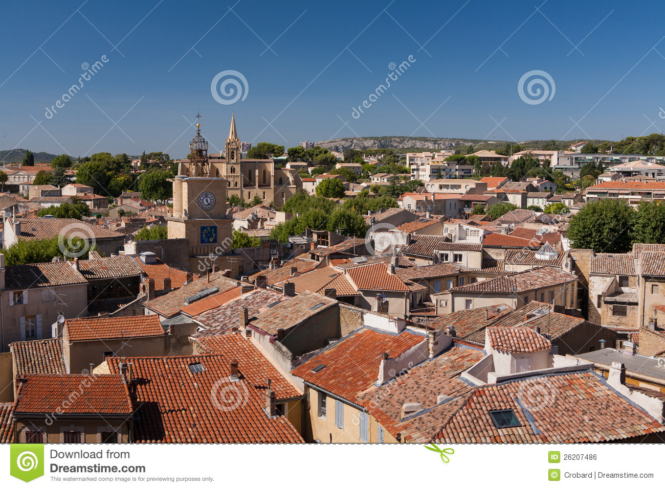 Town of salon de provence france royalty free stock image - Salon de chat francais ...